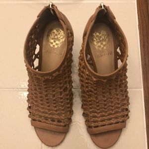 Vince Camuto caged wedge
